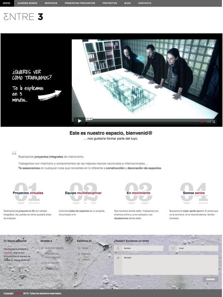 Si quieres saber más sobre nosotros, o ver nuestros trabajos, visita nuestra web www.entre3interioristas.com