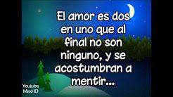 El amor - Ricardo Arjona (HD con letra) - YouTube