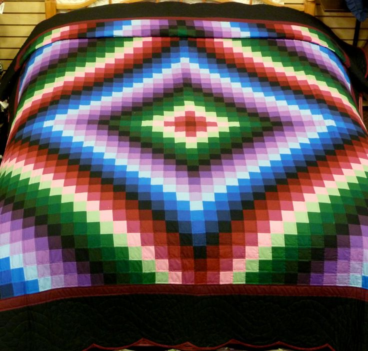 17 Best images about Quilty Things--Bargello, Colorwash, Watercolor and Other Quilts Emphasizing ...
