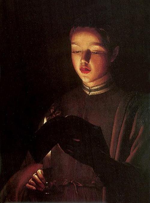 Choirboy, Georges de La Tour (1593 - 1652)
