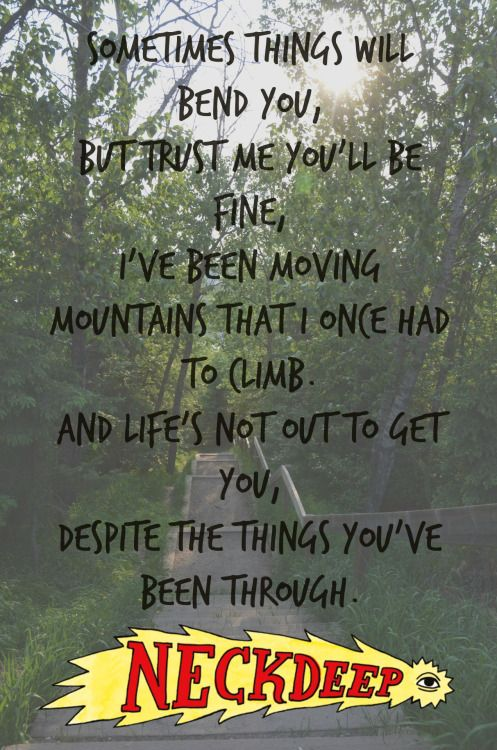 Gold Steps - Neck Deep