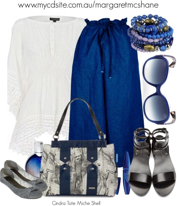 """""""Cindra Tote Miche Shell"""" by mcshanes on Polyvore"""