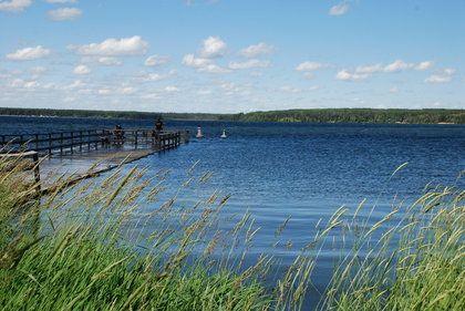 Waskesui Lake from the shores of the town of Waskesiu, Prince Albert National Park, Saskatchewan. BARBARA TAYLOR/QMI Agency