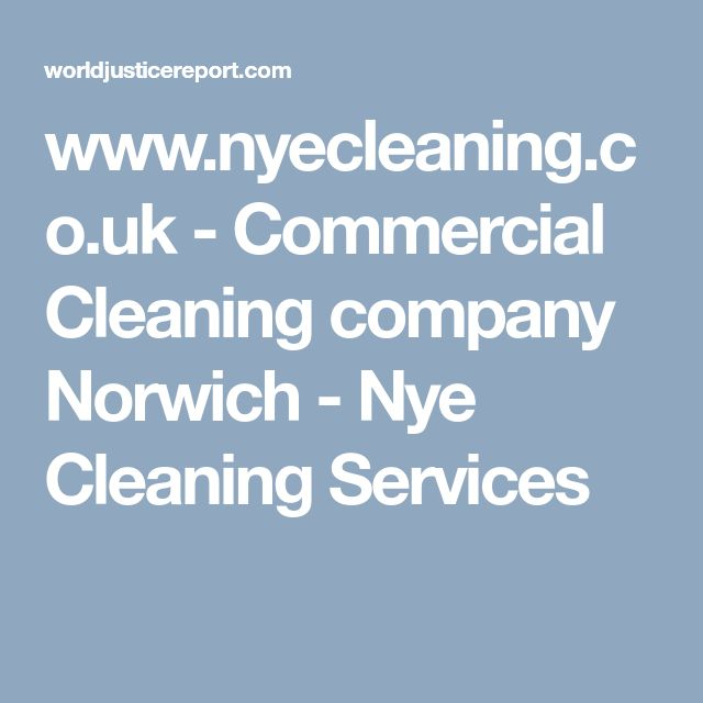 www.nyecleaning.co.uk - Commercial Cleaning company Norwich - Nye Cleaning Services