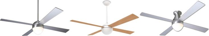 Ball from The Modern Fan Company - a Collection of Ceiling Fans designed by Ron Rezek - Brand Lighting Discount Lighting - Call Brand Lighting Sales 800-585-1285 to ask for your best price!