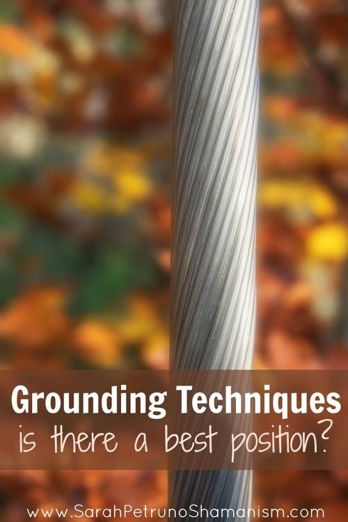 Click To Discover The Meaning Of Your Life-Number, Grounding Techniques - is meditating while laying down really as bad as they say it is? From sitting, to standing, to laying down, what's the best position for grounding? Find out at www.SarahPetrunoS...
