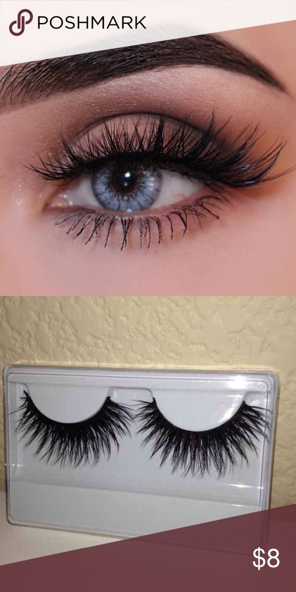 Mink eyelashes •Brand new mink lashes •Blend in with natural eyelashes  •100% mink •You will receive 1 pair ****Get 2 for $13 MAC Cosmetics Makeup False Eyelashes