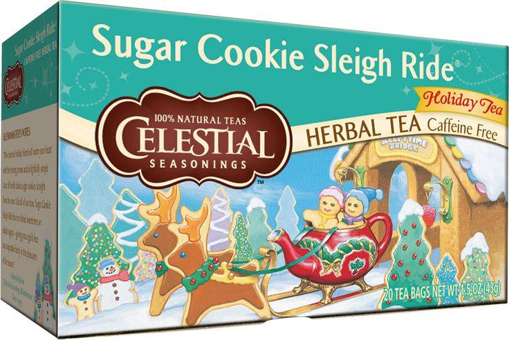 Sugar Cookie Sleigh Ride Holiday Tea   Celestial Seasonings Tea Shop   Celestial Seasonings