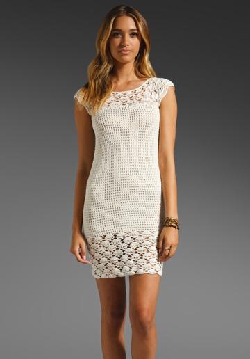 Lisa Maree A Suitable Fancy Crochet Dress in Cream ...