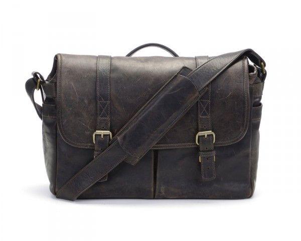 Ona Brixton Messenger Bag - Dark Truffle Leather