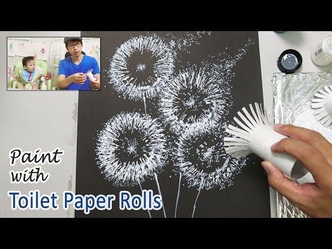 Toilet Paper Roll Painting Techniques for Beginner…