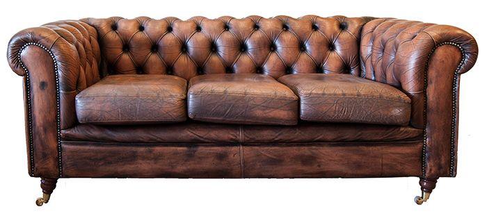 Fotos. Sillones y sofás Chesterfield originales.