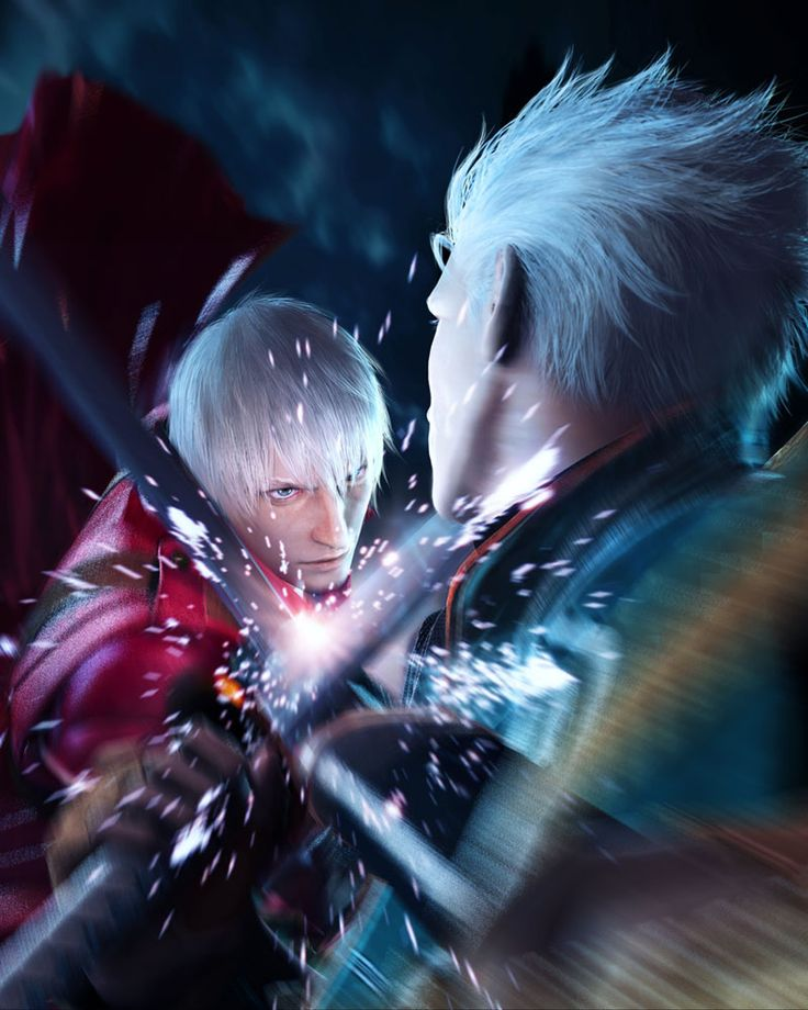 Vergil and Dante from Devil May Cry 3