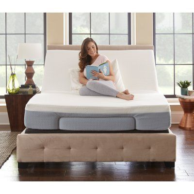 Pure Posture Adjustable Bed, Size: Twin XL - HYN2001TXL