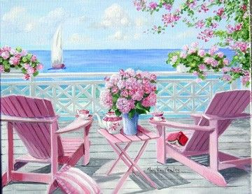 Tea at the beach