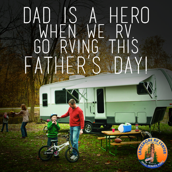 Be the Hero. Happy Father's Day!