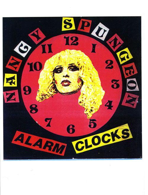 jamie reid. Nancy Spungeon Alarm Clocks (1978)