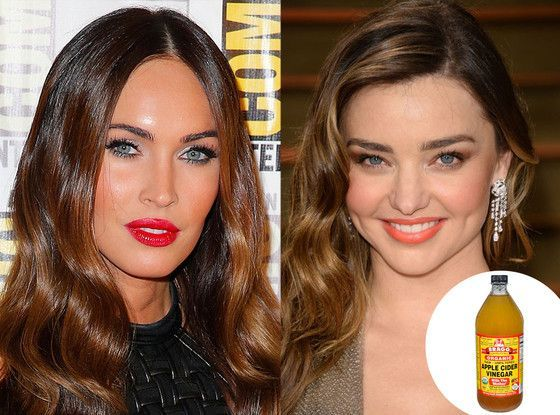 Miranda Kerr and Megan Fox Swear By This Vinegar Diet Trick Megan Fox, Miranda Kerr