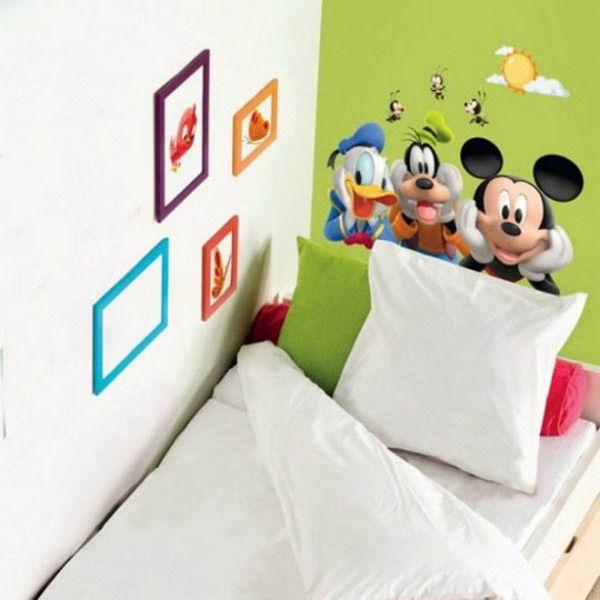 Charming Disney Stars Wall Sticker Murals For Kids Bedroom Ideas Part 16