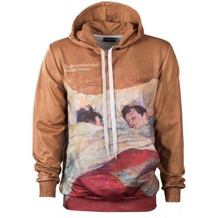 Henri de Toulouse-Lautrec_ The Bed_Hoodie