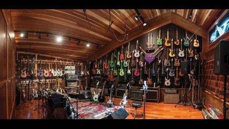 Steve vai 39 s house guitar room pinterest house and for House music collection