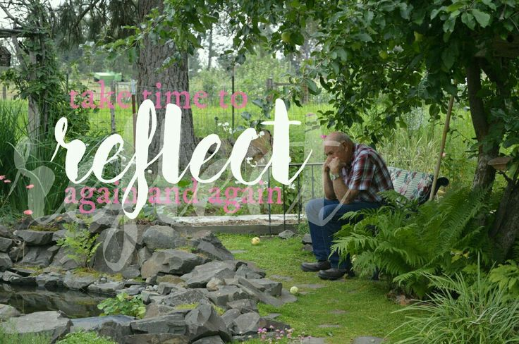Take time to reflect again and again. #josephsmith #lds #grandpa