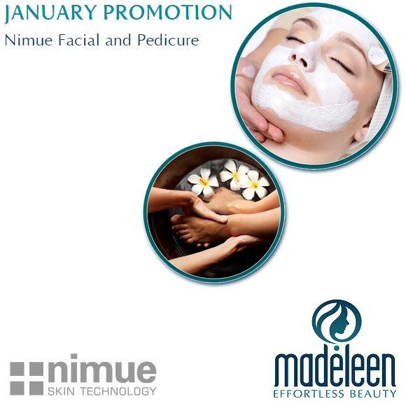Start your week BEAUTIFULLY with our amazing Nimue Facial and Pedicure promotion! Limited spaces available. Book now to not miss out!  For more information: http://bit.ly/1DTpRiJ To book now: 021 889 5374  #Nimue #Facial #Pedicure #Madeleen #EffortlessBeauty