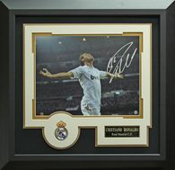 Cristiano Ronaldo Signed Real Madrid C.F. Photo Framed