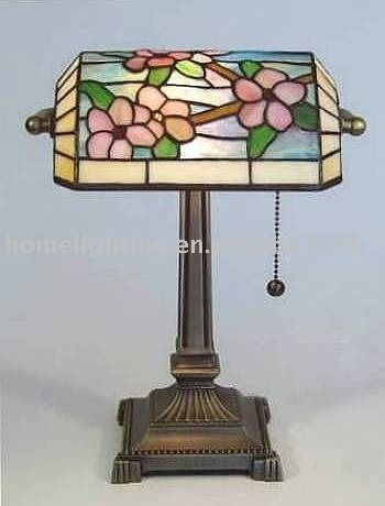 Tiffany Bankers Lamp (tf-1911) Photo, Detailed about Tiffany Bankers Lamp…