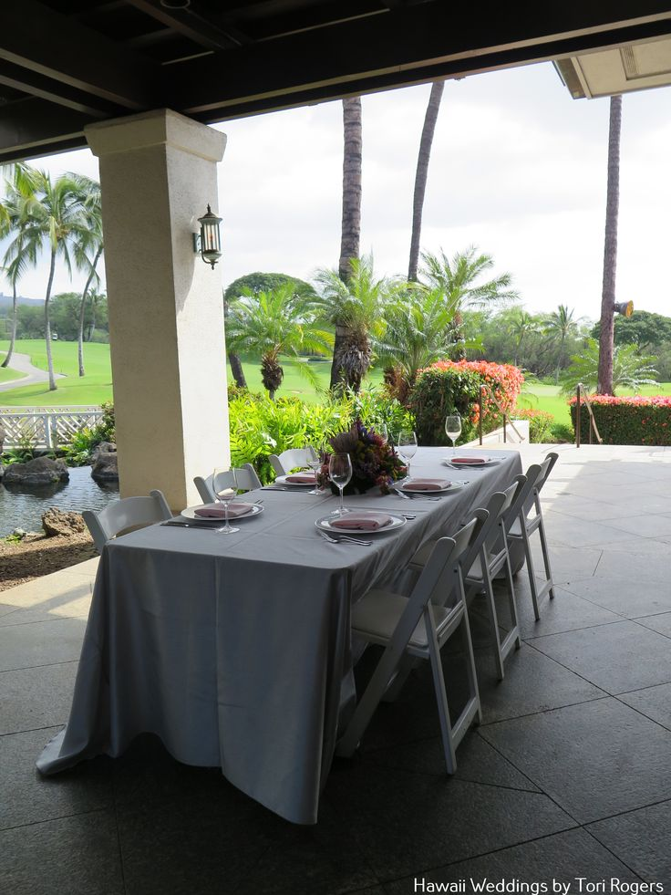 Gannon's Lower Pond. Perfect for your intimate celebration. Contact Hawaii weddings by Tori Rogers for your wedding or event here. www.hawaiianweddings.net Rentals by Hawaiian Style Event Rentals