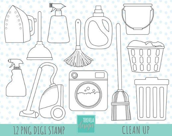 Cleaning Digi Stamp Commercial Use Laundry Stamp Clean Up