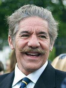 Gerald Michael Rivera (1943 - ) an American attorney, reporter, author, and talk show host… the talk show Geraldo from 1987 to 1998. Rivera hosted the newsmagazine program Geraldo at Large.. and appears regularly on Fox News Channel programs such as The Five…He hosts the talk radio show Geraldo Show on WABC 770 AM radio every weekday.