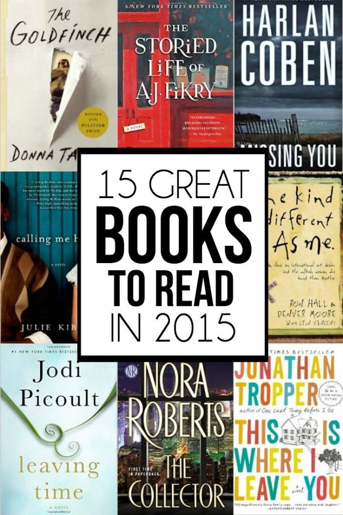 15 great book recommendations to read in 2015, love this reading list and can't wait to check out #10!