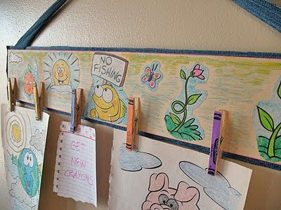 paper clip art display.  just have to find the wall space.