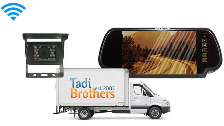 Box Truck Backup Camera System | commercial Backup Camera