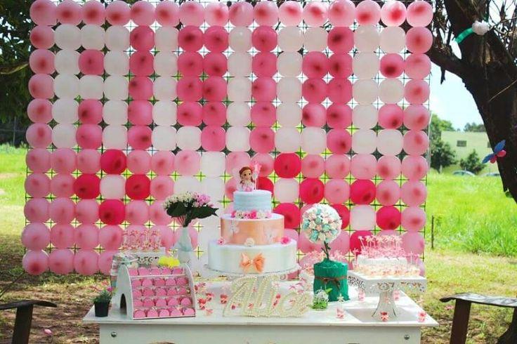 Decoração aniversário infantil menina