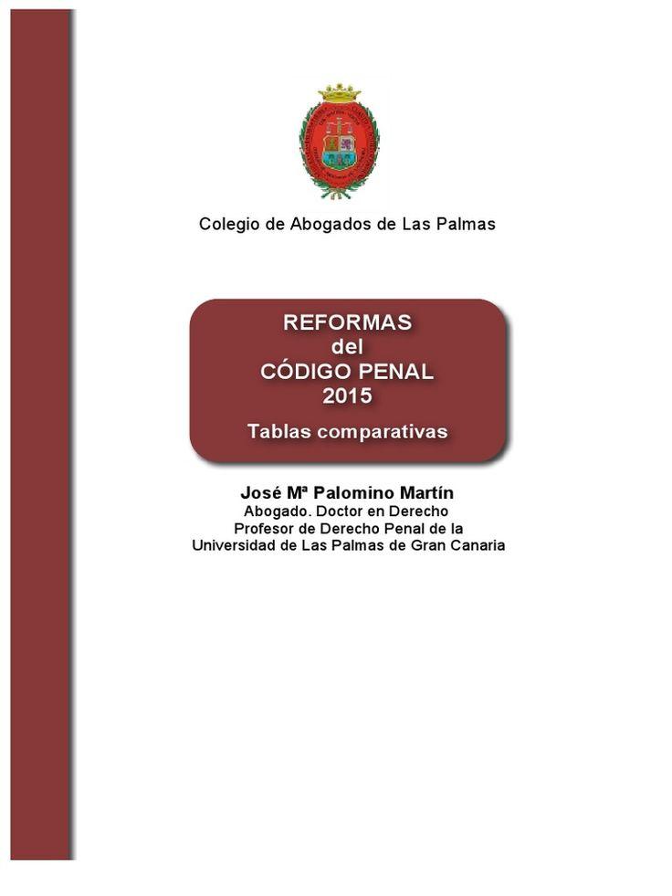 I'm reading Reformas Del Codigo Penal 2015 Tablas Comparativas on Scribd