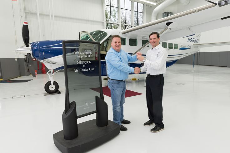 AIR CHOICE ONE TAKES DELIVERY OF $2.7 MILLION NEXT GENERATION CESSNA CARAVAN