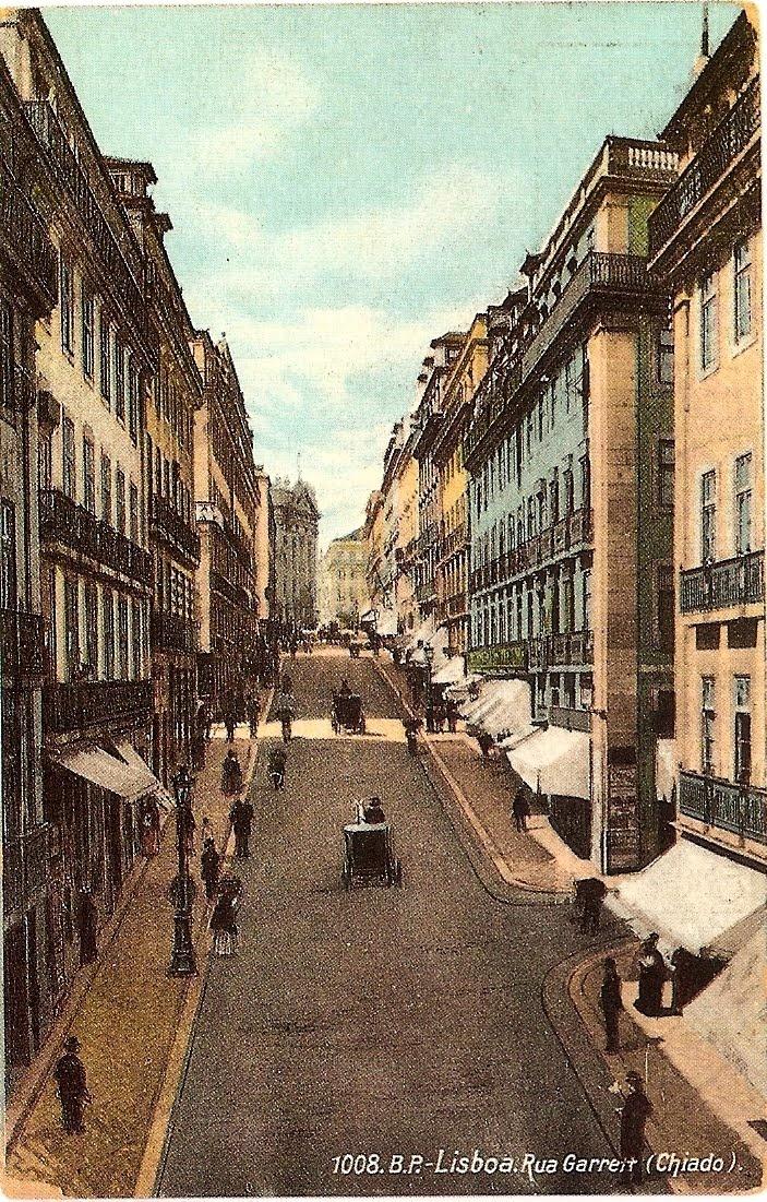 old Chiado, Lisbon.  A Vida Portuguesa