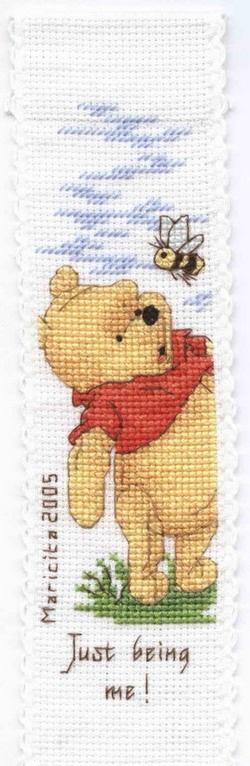 disney bookmark with winnie the pooh1