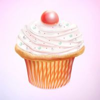 Create a Tasty Cupcake Icon in Photoshop — Tuts
