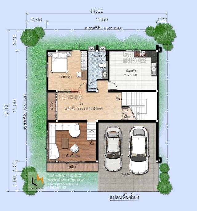 House Plans 11x11 With 4 Bedrooms Sam House Plans In 2020 House Plans Home Design Plans Model House Plan