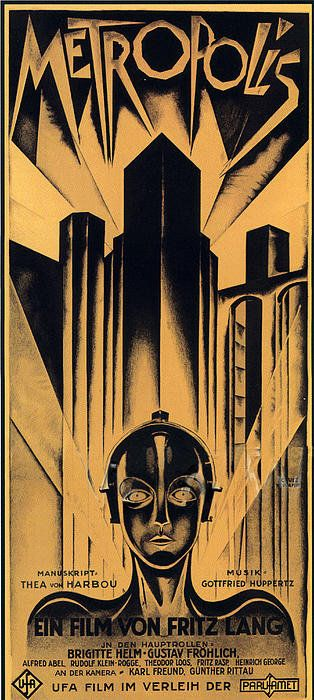 Metropolis Poster Poster By Sanely Great