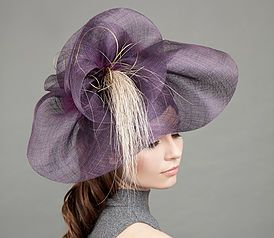 Hats for the races from award winning London-based couture milliner, making bespoke hats and headpieces.