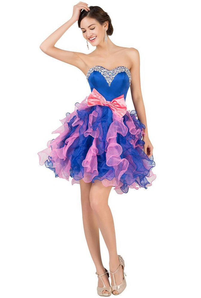 Rochie babydoll Pink and blue RK38-a