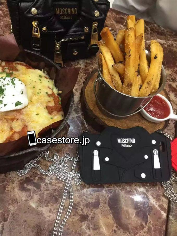 バッグ型ショルダー携帯カバーMOSCHINOアイドル韓国ブランドモスキーノ