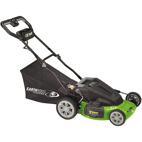 ***FREE SHIPPING*** Trim and maintain your lawn with this Earthwise 36-volt Cordless Electric Lawn Mower - 20-inch. This lawn mower features a powerful 36-volt mower.Earthwise 36-volt Cordless Electri