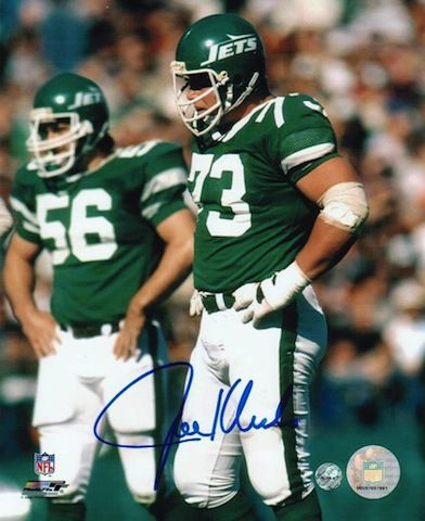 Autographed Joe Klecko New York Jets 8x10 Photo