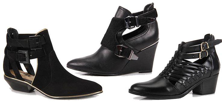 Modelos Cut Out Boot - Marcas  Dumond, Cravo&Canela e  Cesaretti