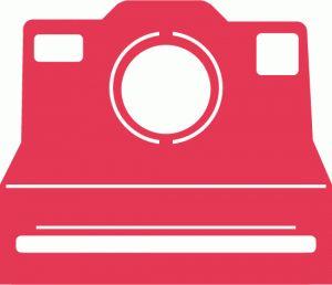 Silhouette Online Store - View Design #55463: polaroid camera cutout